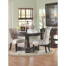 Dark Dining Room Table by Home Decorators Collection Franklin Dark Walnut Hand Carved Dining