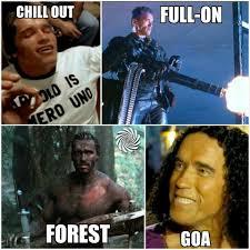 Schwarzenegger Meme - psytrance memes trancentral