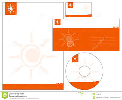Business Card Letterhead Envelope Design by Letterhead Template Design Vector Royalty Free Stock Photos