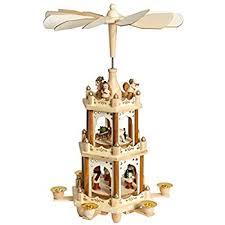 amazon com christmas decoration pyramid 18 inches nativity play 3