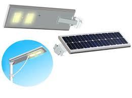 Solar Led Street Lighting by Integrated Solar Led Street Lights With Solar Panel Battery For