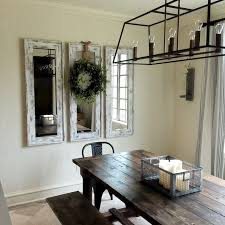 Mirrors In Dining Room Best 25 Rustic Mirrors Ideas On Pinterest Farm Mirrors