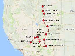 map las vegas and grand grand geoworld travel