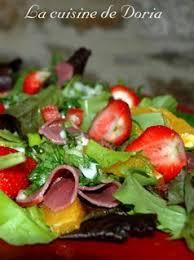 la cuisine de doria salade de printemps salé sucré dinan la cuisine de doria