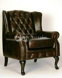 Chesterfield Style Armchair Chesterfield Leather Arm Chair Foter