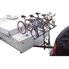 pop up camper bike rack by prorac 2 and 4 bike discount ramps