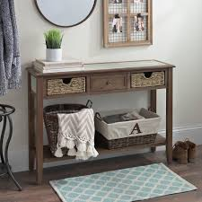Kirklands Console Table Distressed Beadboard Barnwood Console Table Kirklands