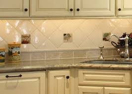 kitchen backsplash tile white stainless chairs metal base white