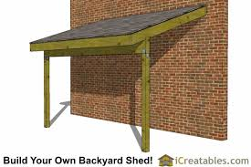 Making Your Own Shed Plans by Tarp Lean To Off House 6x12 Lean To Shed Plans Open Side Lean