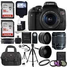 amazon com canon eos rebel t6i slr camera 18 55mm f 3 5 5 6 lens