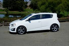 test drive 2013 chevy sonic rs 5 door hatch u2013 our auto expert