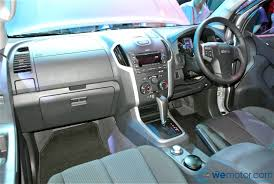 isuzu dmax interior isuzu launches all new second generation 2013 d max rm69 799 to