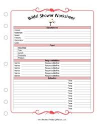 bridal shower planner best 25 bridal shower checklist ideas on bridal