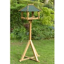 Bird Table L Rspb Pagoda Bird Table Bird Feeders Rspb Shop