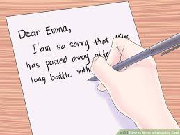 how to write a sympathy card 10 steps with pictures wikihow