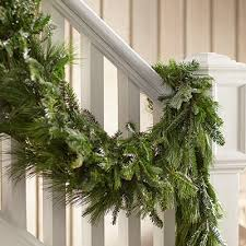 Live Greenery Christmas Decorations by Dazzling Live Garland Christmas Decor Fetching How To Decorate