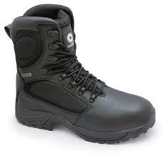 lambretta waterproof combat work boots black men u0027s shoes