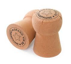 giant champagne cava and prosecco cork stool