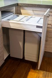 Kitchen Cabinet Garbage Drawer Bin Drawer Small Contemporary Kitchen Hafele Bins Blum Drawer