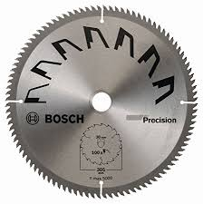 table saw blade width bosch 2609256b60 precision circular saw blade with 100 teeth