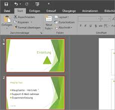 powerpoint design zuweisen ändern des aussehens und verhaltens von office 2016 für windows mit