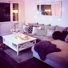 purple livingroom living room purple living rooms cozy room decor wall on a budget