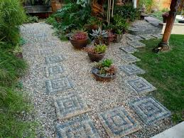 Backyard Gravel Ideas - the landscape gravel patio dabbling crafter diy sunday fire pit