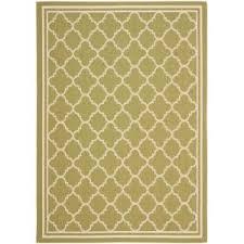 beige green safavieh courtyard green beige 5 ft x 8 ft indoor outdoor area rug