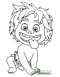 coloring page spot coloring pages from the good dinosaur page