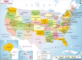 map usa states 50 states with cities a map depicting the states and their capitols history nifty