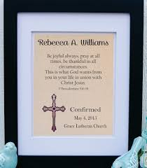 lutheran confirmation gifts custom confirmation gift confirmation bible verse