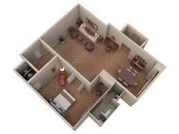 3d floor plans waldorf suite view 2