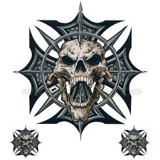 skull iron cross search tattoos