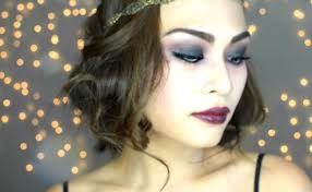 super easy 1920 u0027s gatsby flapper inspired halloween makeup for