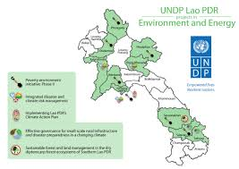 Laos World Map by Programme And Project Maps Undp In Lao Pdr