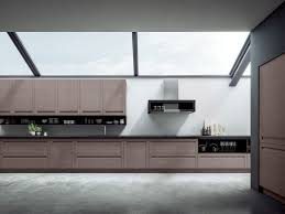 Kitchen Stainless Steel Cabinets Contemporary Kitchen Stainless Steel Oak Wood Veneer