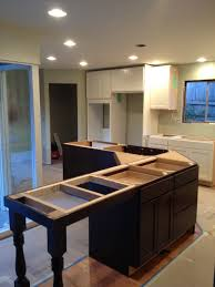 custom island features pilasters home run solutions
