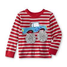 wonderkids infant u0026 toddler boy u0027s graphic shirt monster truck