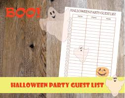 printable halloween book 2017 halloween planner printable halloween party printable