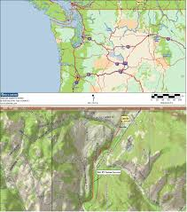 Winthrop Washington Map by Washington Rv Camping Rv Camping