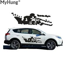 size of toyota rav4 aliexpress com buy personality big size car sticker for toyota