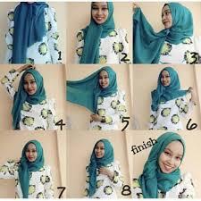 tutorial memakai jilbab paris yang simple cara memakai jilbab paris simple tapi cantik remaja update
