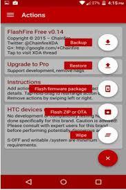cara membuat flashable zip tanpa pc flashfire apk install roms kernels flash without recovery