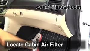 honda accord cabin air filter replacement fog light replacement 2013 2016 honda accord 2015 honda accord