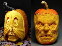 halloween pumpkin carvings by villafane studios scene360