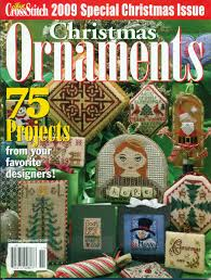 buy just cross stitch magazine christmas ornaments special