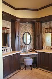 L Shaped Bathroom Vanity by Corner Bathroom Vanity Cabinet With Integrated Marble Sink Using