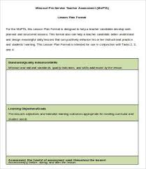 lesson plan template 9 free sample example format free