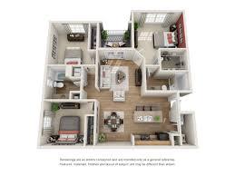 Virtual Floor Plans by Apartments Tallahassee Fl Floorplans Capital Walk