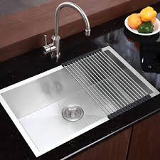 single bowl kitchen sink commercial stainless steel top mount kitchen sink 28 x18 single